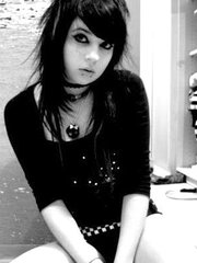 Sweet emo ladies love posing for alluring photos