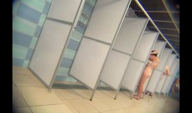 Voyeur video featuring all sorts of hot naked amateur chicks