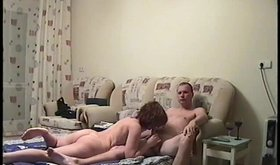 Short-haired hoe enjoying ruthless amateur fucking